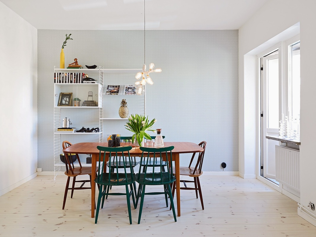 Interior scandinavisch wonen in g teborg louvintage for Danish design meubels